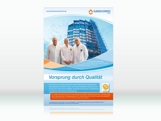 Klinikum Chemnitz Plakat