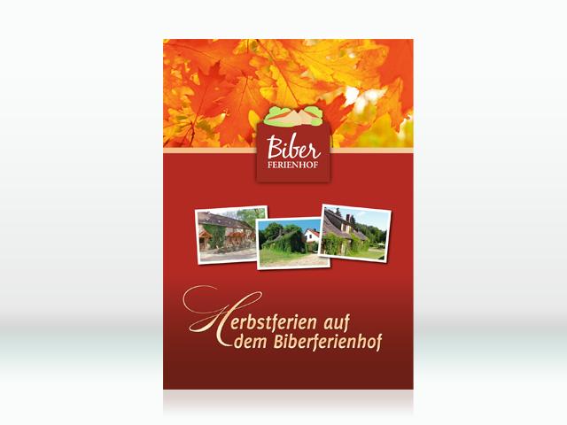 Biber Ferienhof Flyer