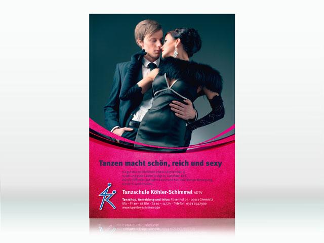 ADTV Tanzschule Plakat
