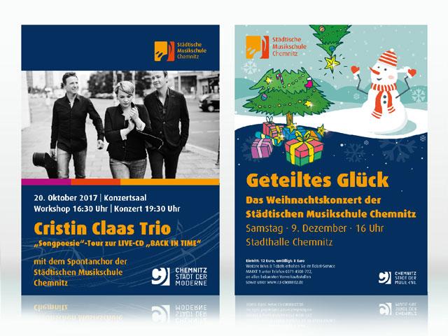 Musikschule Chemnitz Flyer