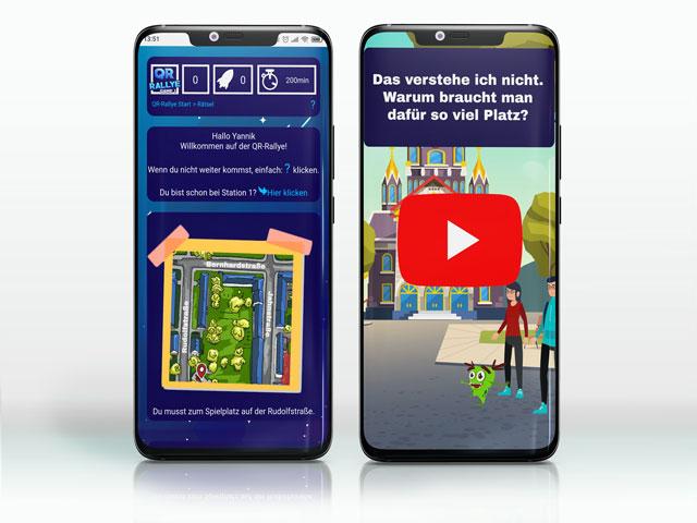 Qrallye-mobile-Website
